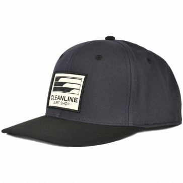 Cleanline Lines Hat - Navy Surplus/Black