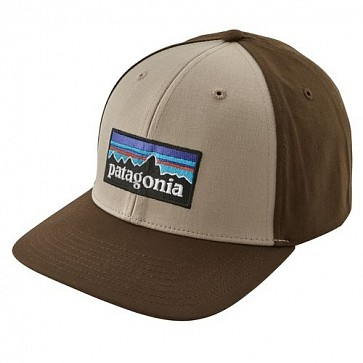 Patagonia P-6 Logo Roger That Hat - El Cap Khaki