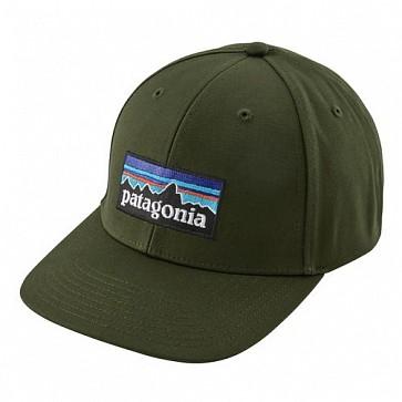 Patagonia P-6 Logo Roger That Hat - Nomad Green