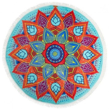 Pure Vida Beach Mandala Towel - Multi