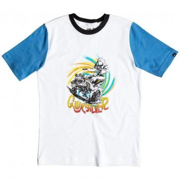 Quiksilver Youth Deep On The Beach T-Shirt - Star Sapphire