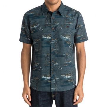 Quiksilver Soothsayer Short Sleeve Shirt - Balsam