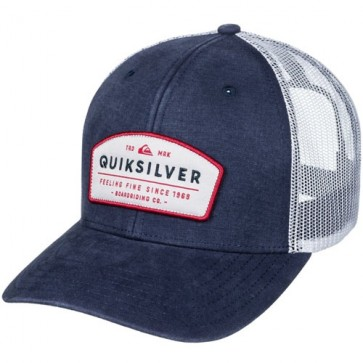 Quiksilver Souper Trucker Hat - Navy Blazer