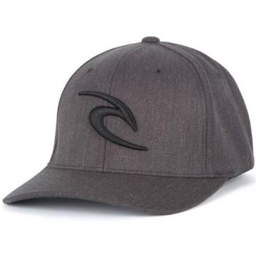 Rip Curl Icon Explorer Flexfit Hat - Charcoal