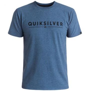 Quiksilver Glassy T-Shirt - Dark Denim Heather