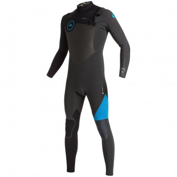 Quiksilver Highline Performance 3/2 Wetsuit - Graphite/Cyan
