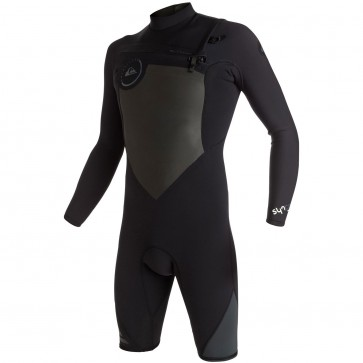 Quiksilver Syncro 2mm Long Sleeve Spring Wetsuit - Black