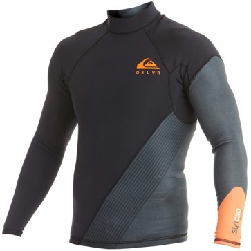 Quiksilver Wetsuits Syncro New Wave 1mm Jacket - Flame