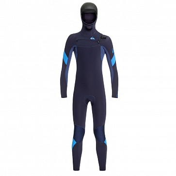 Quiksilver Youth Syncro 5/4/3 Hooded Chest Zip Wetsuit