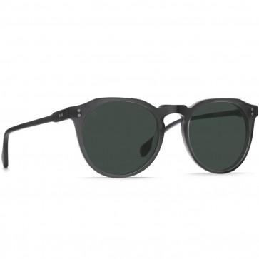 Raen Remmy Polarized Sunglasses - Matte Grey Crystal/Green