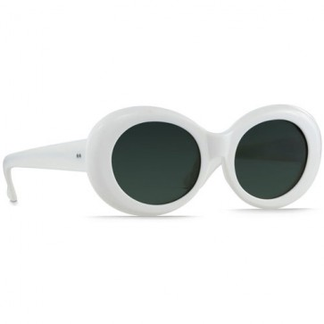 Raen Figurative Sunglasses - Peroxide/Green