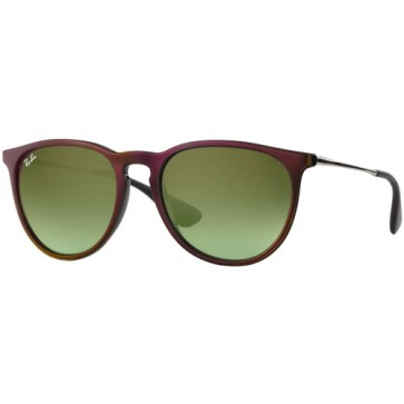 Ray-Ban Women's Erika Sunglasses - Black Red/Green Gradient Brown
