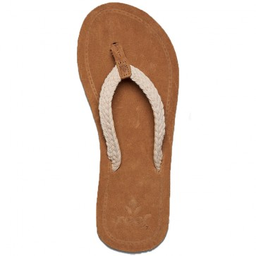 Reef Women's Gypsy Macrame Sandals - Cream