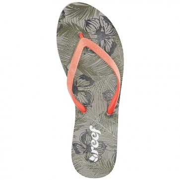 Reef Women's Stargazer Prints Sandals - Olive Tropical