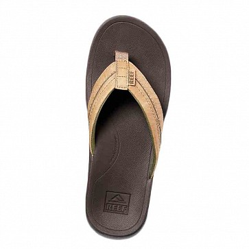 Reef Ortho Bounce Coast Sandal - Brown
