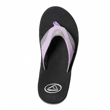 Reef Women's Fanning Sandals - Grey/Purple