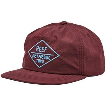 Reef Season Hat - Burgundy
