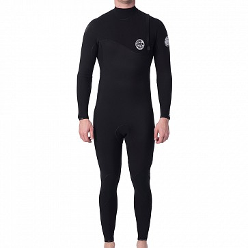 Rip Curl Flashbomb 3/2 Zip Free Wetsuit - Black