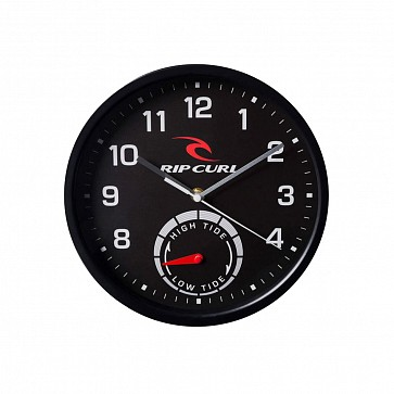 Rip Curl Tide Wall Clock - Black