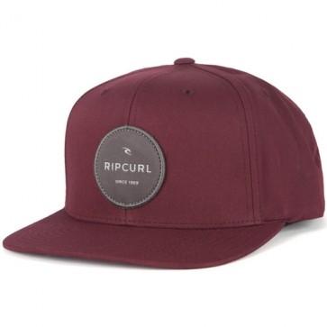 Rip Curl Staple Hat - Wine