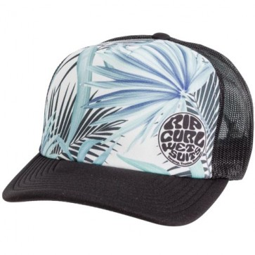 Rip Curl Women's Search Vibes Trucker Hat - Black