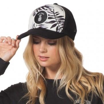 Rip Curl Women's Tropic Oasis Trucker Hat - Black