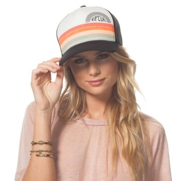 Rip Curl Women's Heritage Trucker Hat - Black