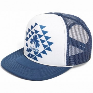 Rip Curl Women's Island Heat Trucker Hat - Navy