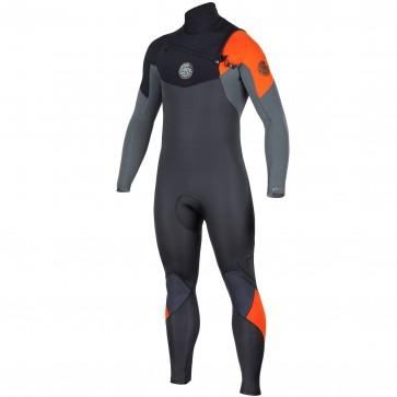 Rip Curl E-Bomb 3/2 Chest Zip Wetsuit - Orange