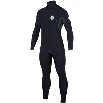 Rip Curl Flash Bomb 4/3 Zip Free Wetsuit - Black