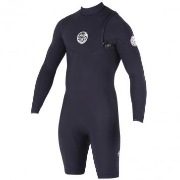 Rip Curl Dawn Patrol Long Sleeve Spring Wetsuit - Black