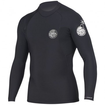 Rip Curl Wetsuits E-Bomb Pro 1.5mm Long Sleeve Jacket - Black