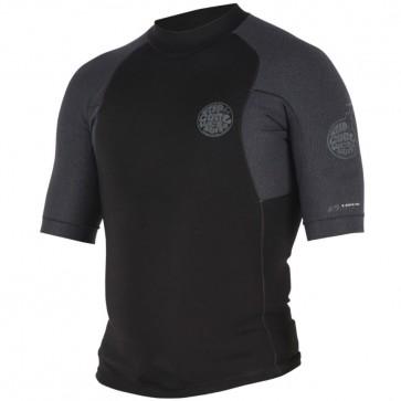 Rip Curl Wetsuits E-Bomb Pro 1.5mm Short Sleeve Jacket - Black