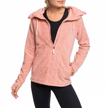 Roxy Women's Electric Feeling Zip Hoody - Rosette Heather