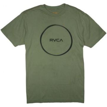 RVCA Hoop T-Shirt - Oil Green