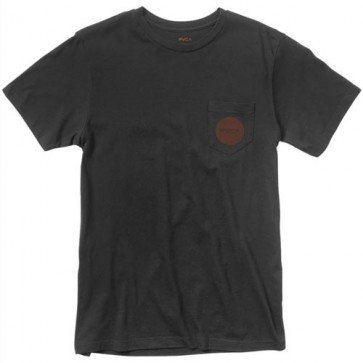 RVCA Motors Reverse T-Shirt - Black