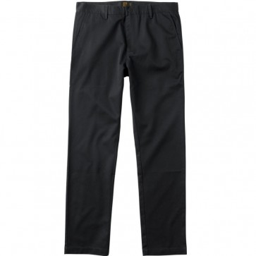 RVCA Dayshift Chino Pants - Pirate Black