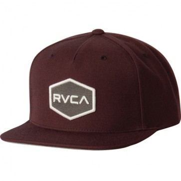 RVCA Commonwealth II Hat - Wine