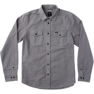RVCA Backyard Long Sleeve Shirt - Smoke