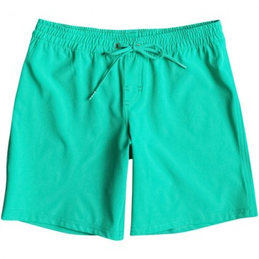 """Roxy Youth Classic 7"""" Boardshorts - Teal"""