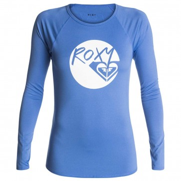 Roxy Women's Classic Long Sleeve Rash Guard - Chambray
