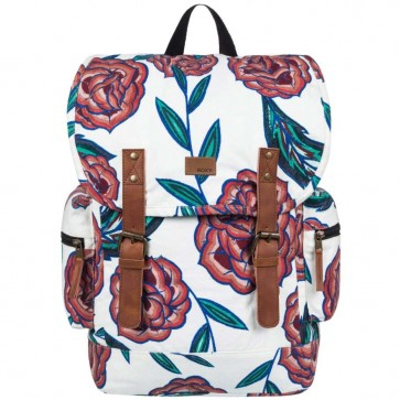 Roxy Women's Free For Sun Backpack - Marshmallow Mexican