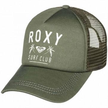 Roxy Women's Truckin Trucker Hat - Olive