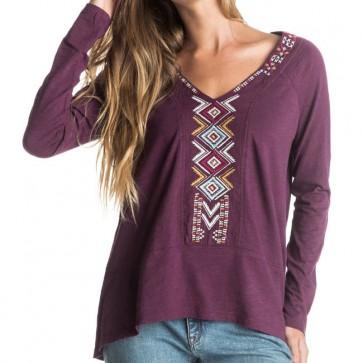 Roxy Women's True Affection Top - Potent Purple
