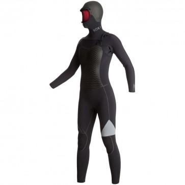 Roxy Women's Performance 5/4/3 Hooded Wetsuit - Black