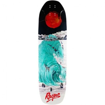 Rayne Brightside V2 Longboard Deck - Blood Moon