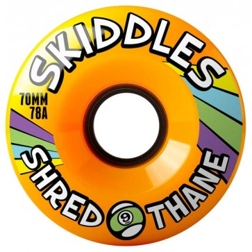Sector 9 - 70mm Skiddles Wheels - Orange