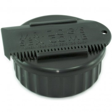 Sex Wax Container and Comb - Black