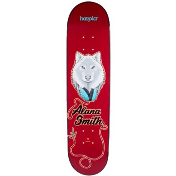 Hoopla Alana Smith Wolf 2 Pro Deck - Red