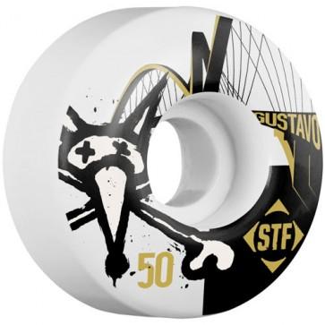 Bones 50mm STF Pro Gustavo Bridge Wheels - White